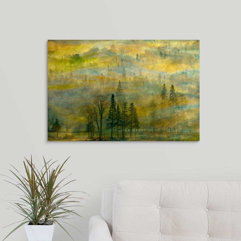 """Fall Tapestry"" by Tony Sweet Canvas Wall Art"