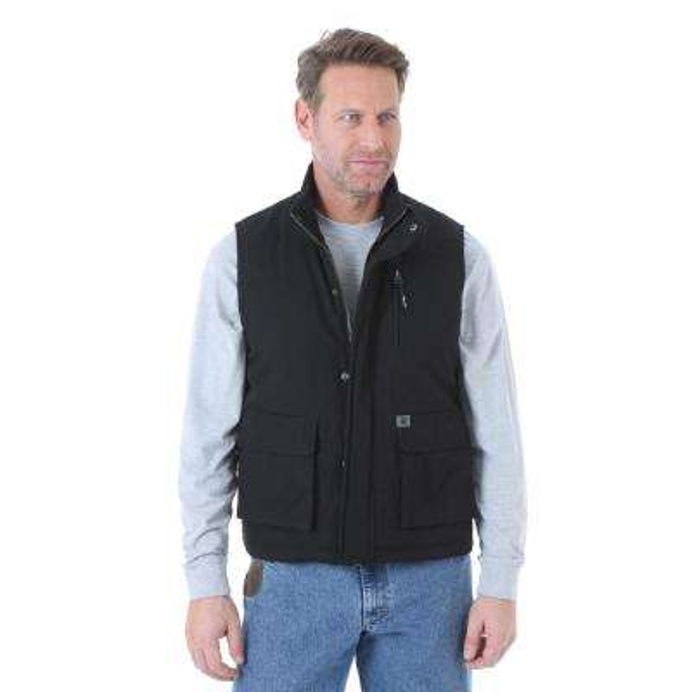 Men's Size Extra Large Black Foreman Vest