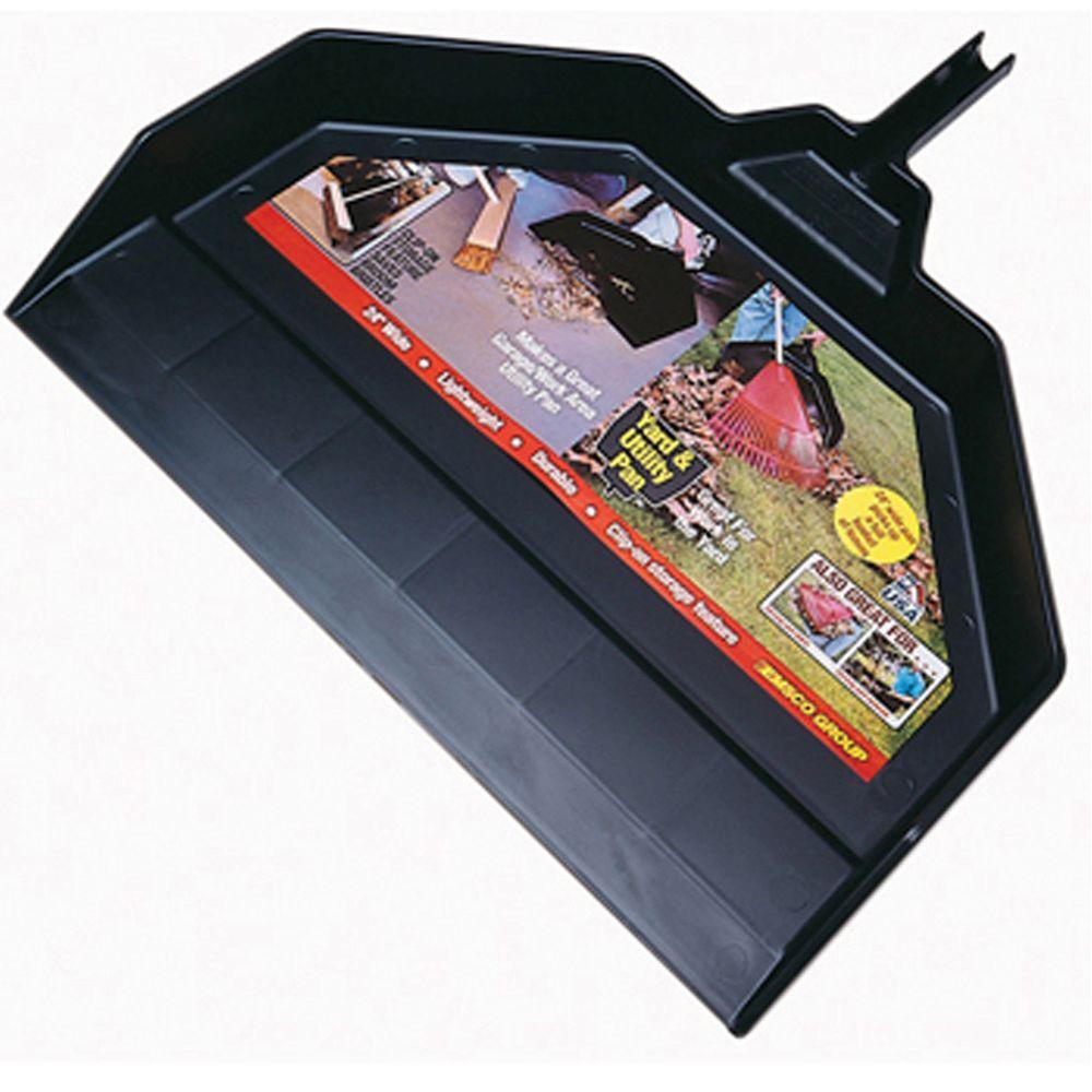 Emsco Cavex 24 in. Extra Wide Outdoor/Indoor Leaf and Dust Pan