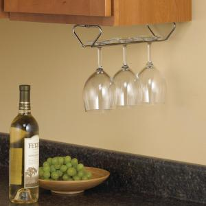 11.5 in. x 4 in. x 2 in. Stemware Wine Glass Rack