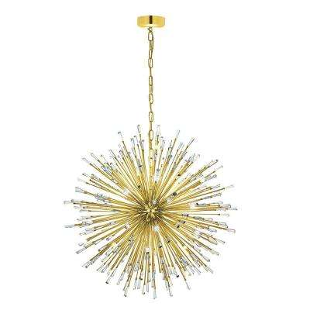 Vivaldo 32-Light Gold Chandelier