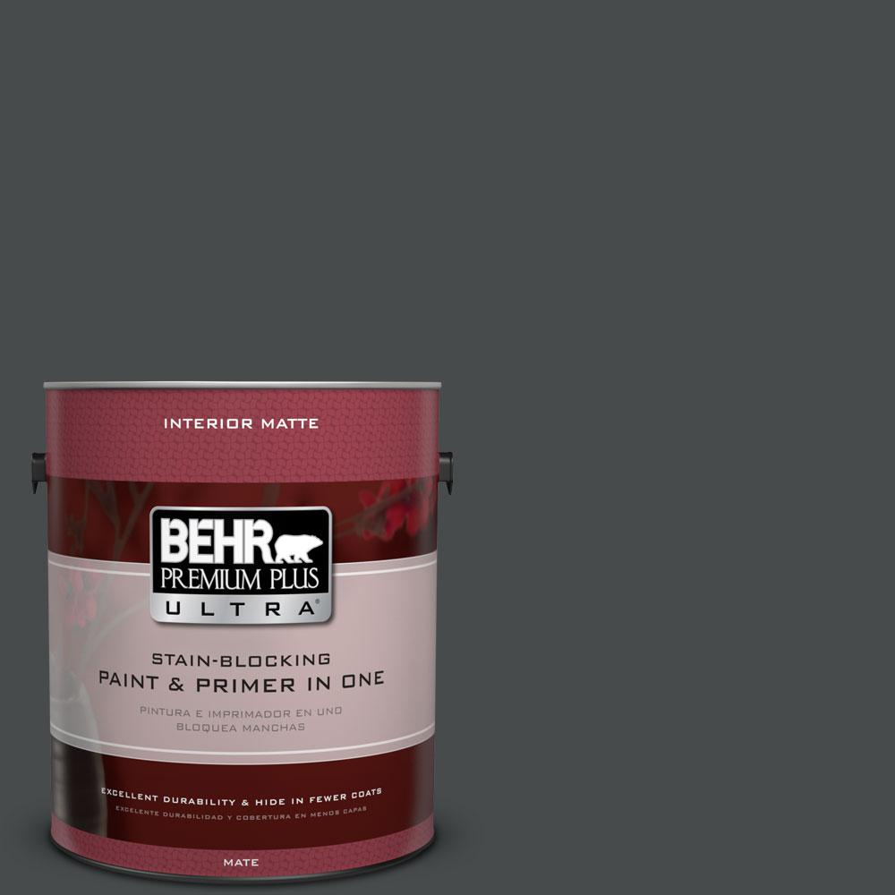 BEHR Premium Plus Ultra 1 gal. #N450-7 Astronomical Matte Interior Paint