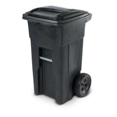 32 Gal. Wheeled Blackstone Trash Can
