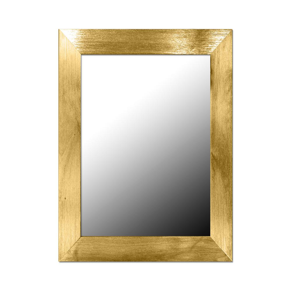 Home Basics Gold Wall Mirror was $18.29 now $9.71 (47.0% off)