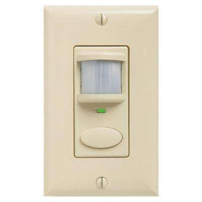 Decorator Vacancy Motion Sensing Wall Switch - Ivory