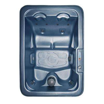 Malta 4-Person Plug and Play 10-Jet Spa with Ozonator, LED Light, Polar Insulation and Hard Cover