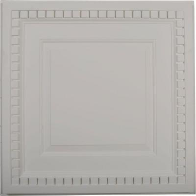 1-5/8 in. x 23-3/4 in. x 23-3/4 in. Polyurethane Dentil Ceiling Tile