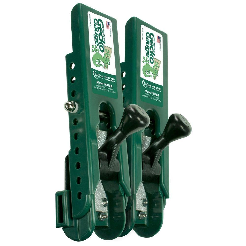 Pactool Gecko Sa903 Hz5 Siding Gauge 3066145 The Home Depot