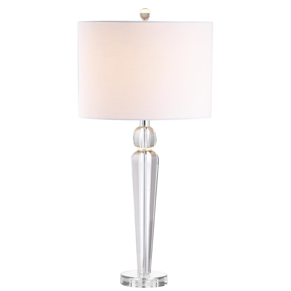 Elizabeth 28.5 in. Crystal Table Lamp, Clear