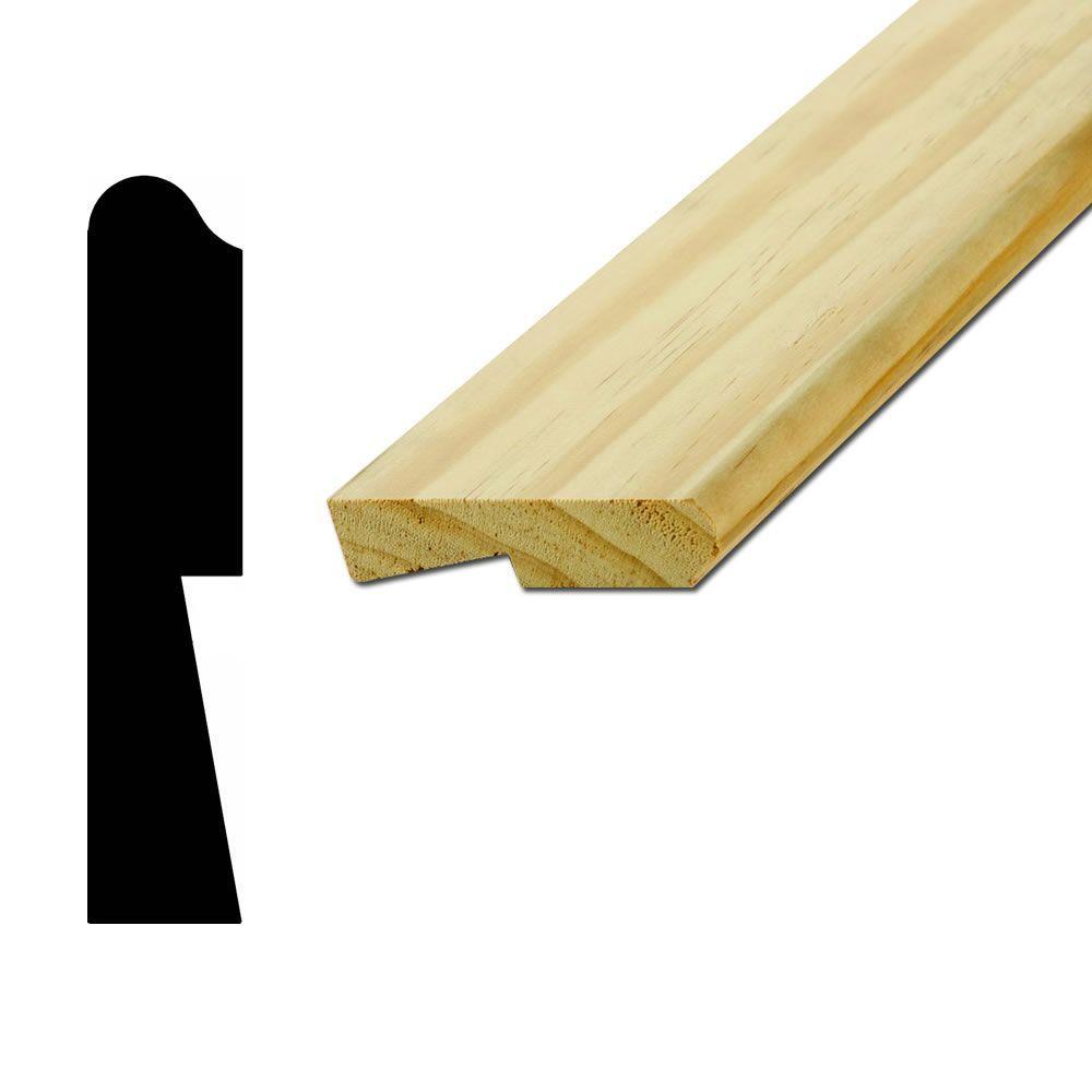 American Wood Moulding Wm1193 11 16 In X 3 1 4 In Pine