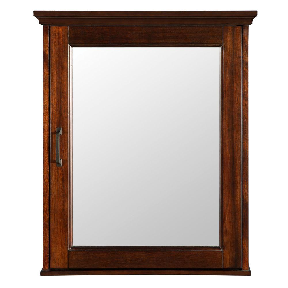 Foremost Ashburn 23 in. W x 28 in. H x 7-3/4 in. D Framed Surface ...