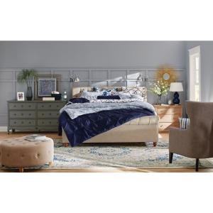 2 home decorators collection gordon natural king sleigh bed