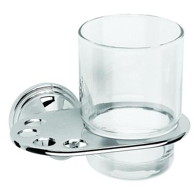 Westminster Tumbler and Holder in Chrome