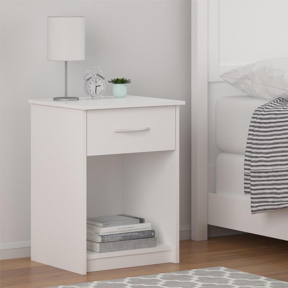 Altra Furniture Core Nightstand In White-5497015COM