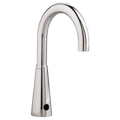 Selectronic AC Powered 1.5 GPM Single Hole Touchless Bathroom Faucet with Laminar Flow in Polished Chrome