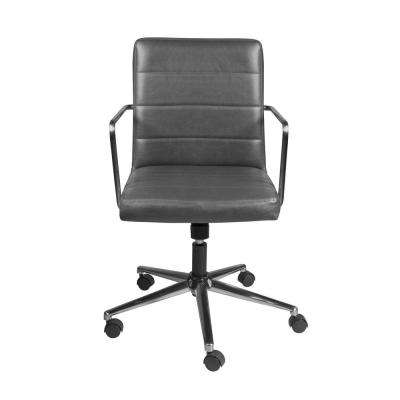 Leander Gray Low Back Office Chair