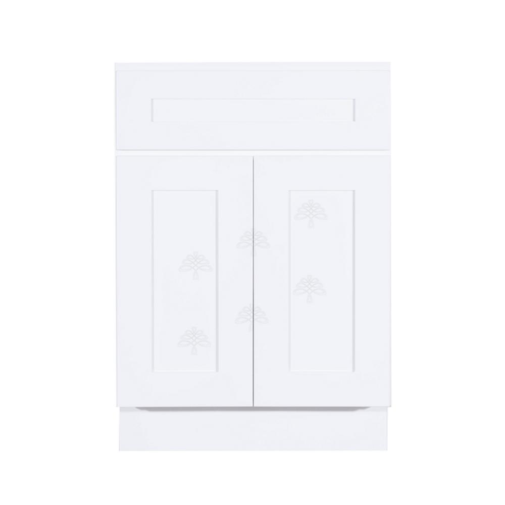 Lifeart Cabinetry Shaker Assembled 24x34 5x24 In Sink