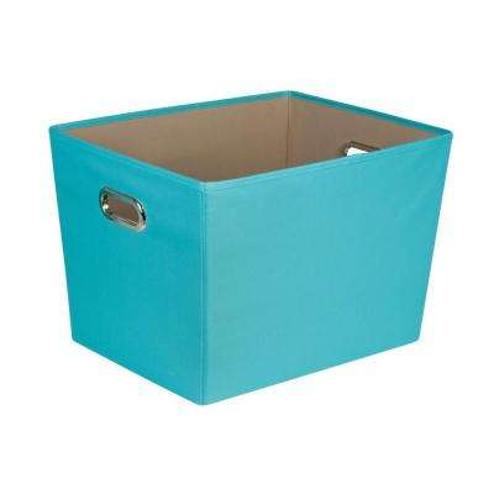 Ordinaire 58 Qt. Large Decorative Storage Bin With Handles