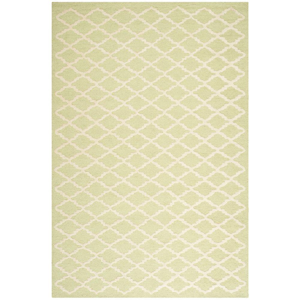 Safavieh Cambridge Light Green/Ivory 6 ft. x 9 ft. Area Rug