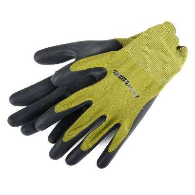 Nitrile Foam Dipped Bamboo Gloves (Men's L)
