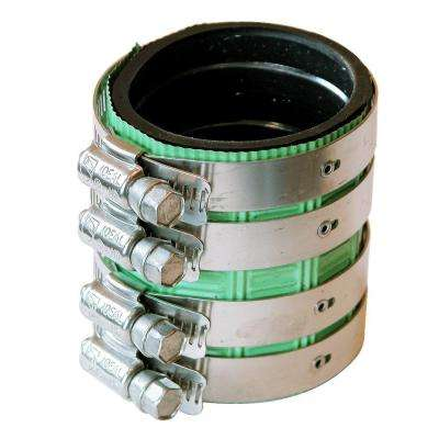 2 in. EPDM Rubber Shielded Coupling
