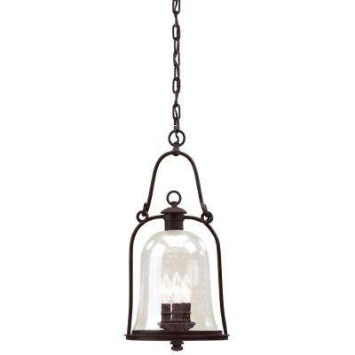 Owings Mill 3-Light Natural Bronze Outdoor Pendant