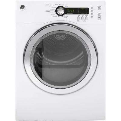 4.0 cu. ft. Electric Compact Dryer in White