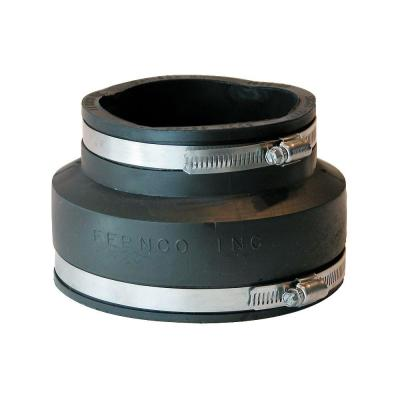 5 in. x 4 in. DWV Flexible PVC Coupling