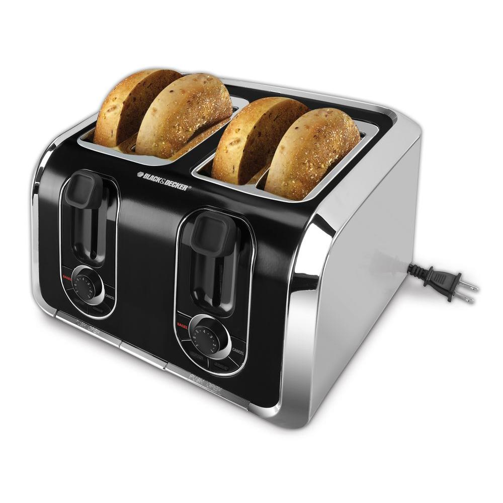 BLACK+DECKER 4-Slice Toaster-DISCONTINUED