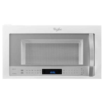 30 in. W 1.9 cu. ft. Over the Range Convection Microwave in White Ice