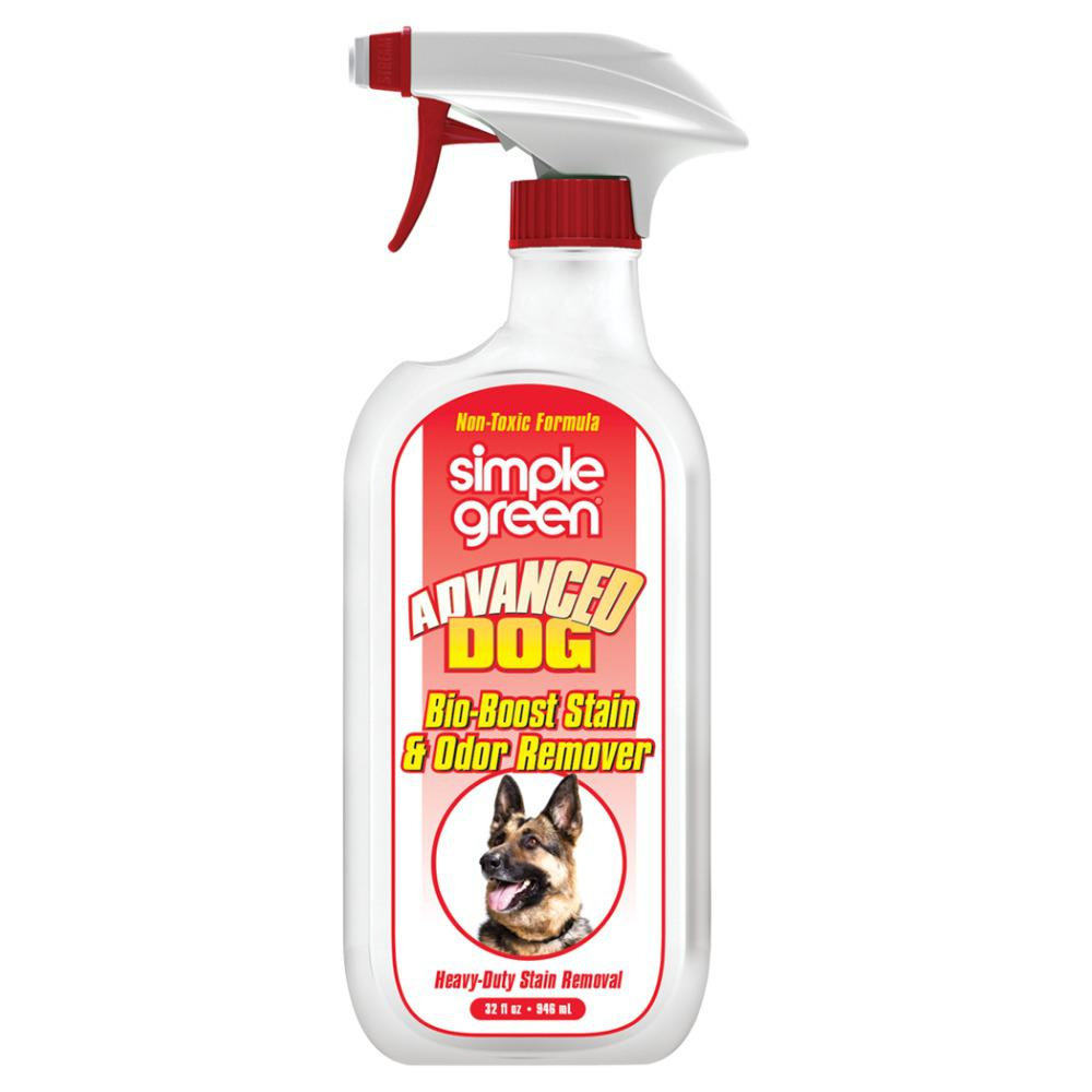 simple green 32 oz advanced dog stain and odor remover 2000000103032 the home depot. Black Bedroom Furniture Sets. Home Design Ideas