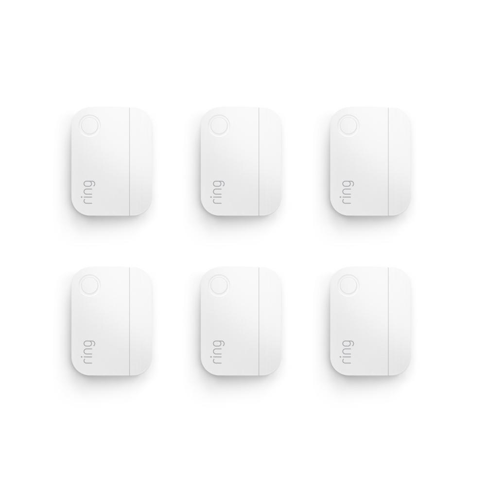 Ring Alarm Door/Window Sensor (6-Pack) (2nd Gen)