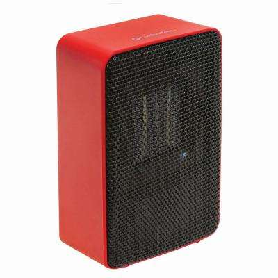 Personal Desktop Ceramic Heater, Red