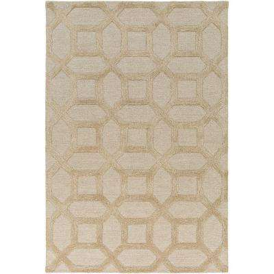 Arise Evie Beige 8 ft. x 10 ft. Indoor Area Rug