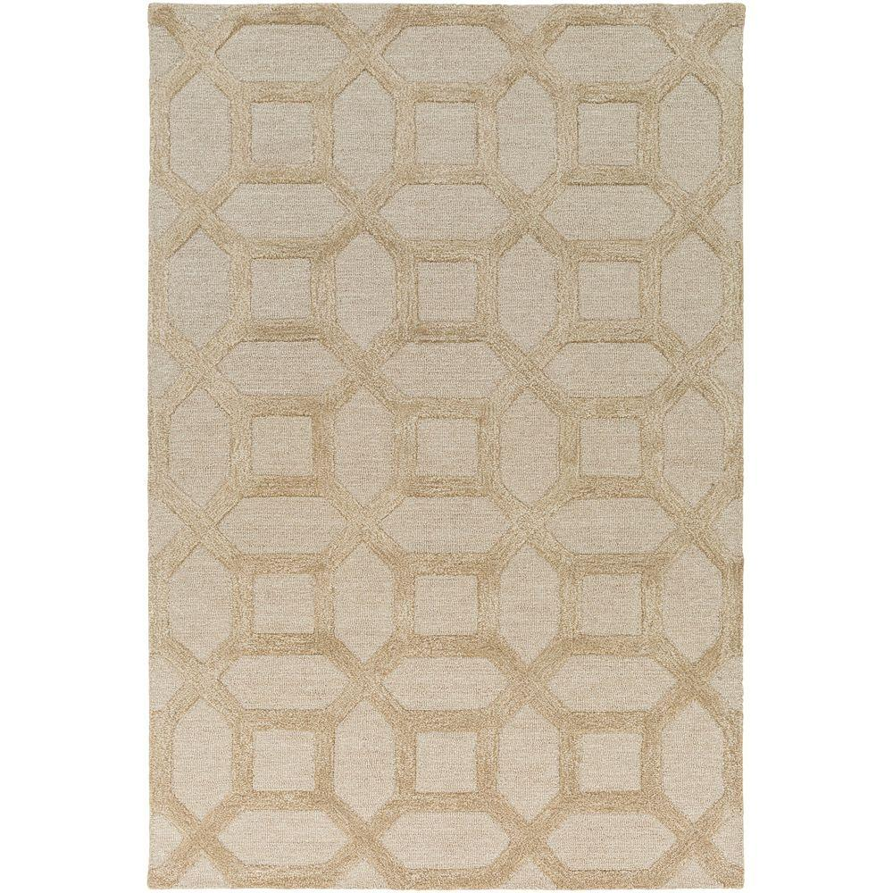 Arise Evie Beige 8 ft. x 11 ft. Indoor Area Rug