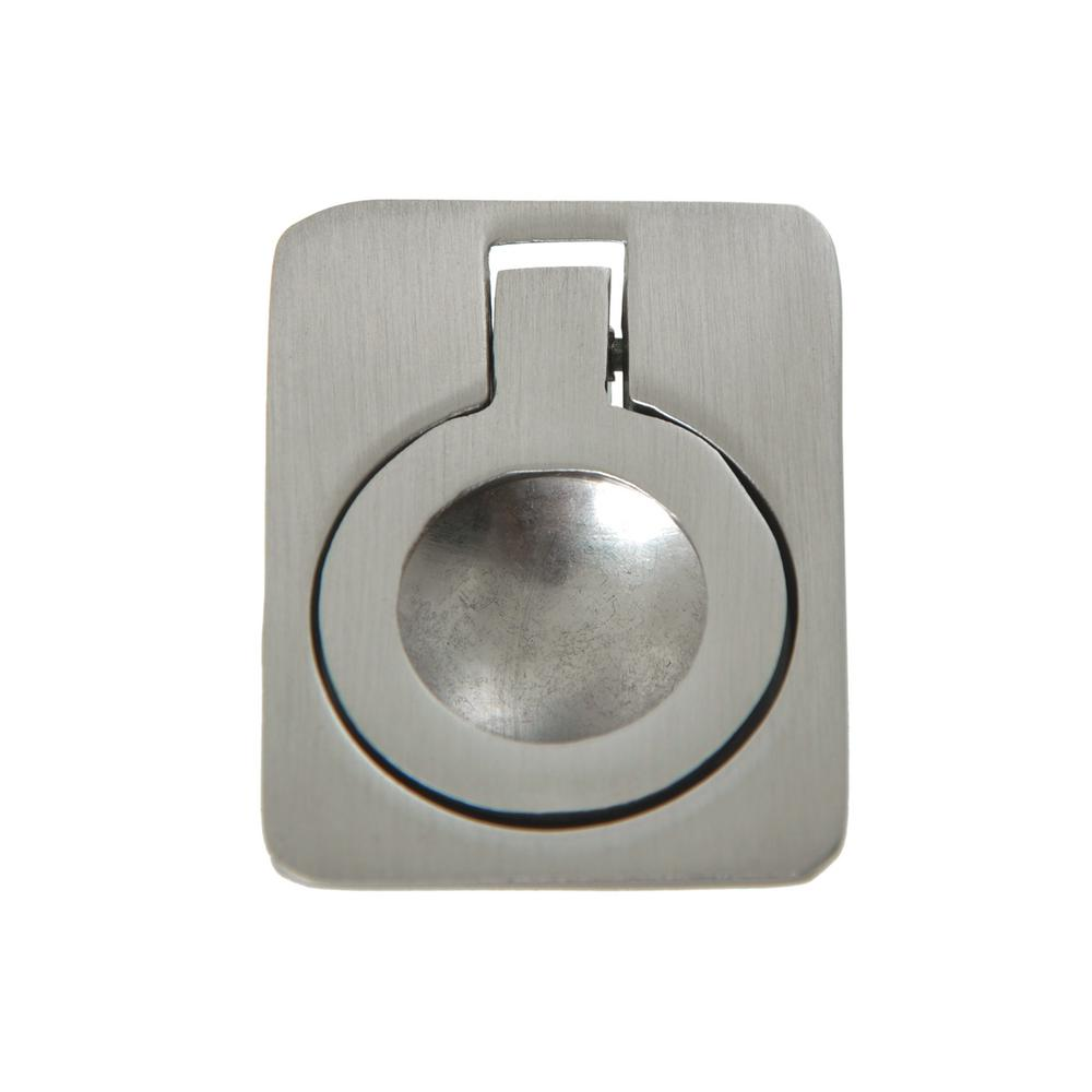 Merveilleux Utopia Alley Kent 1 5/8 In. X 1 1/8 In. X 5/8 In. Brushed Nickel Ring  Cabinet Pull HW299PLBN021   The Home Depot