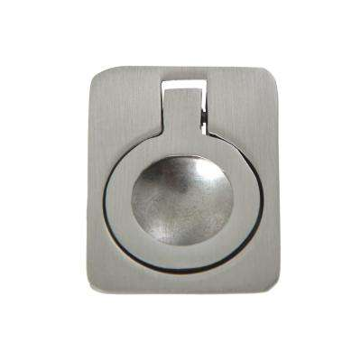 Utopia Alley Kent Drop Ring Cabinet Pull, Brushed Nickel, 1.6""