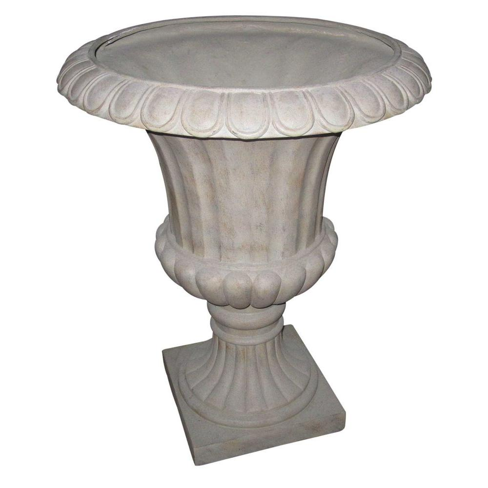 null 17.5 in. x 22.5 in. Fiber Glass Cicely Urn-DISCONTINUED
