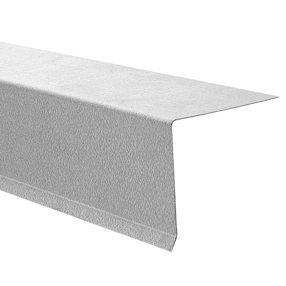 Gibraltar Building Products 2-3/4 in. x 3 in. x 10 ft. 26-Gauge Galvalume Drip Edge Flashing