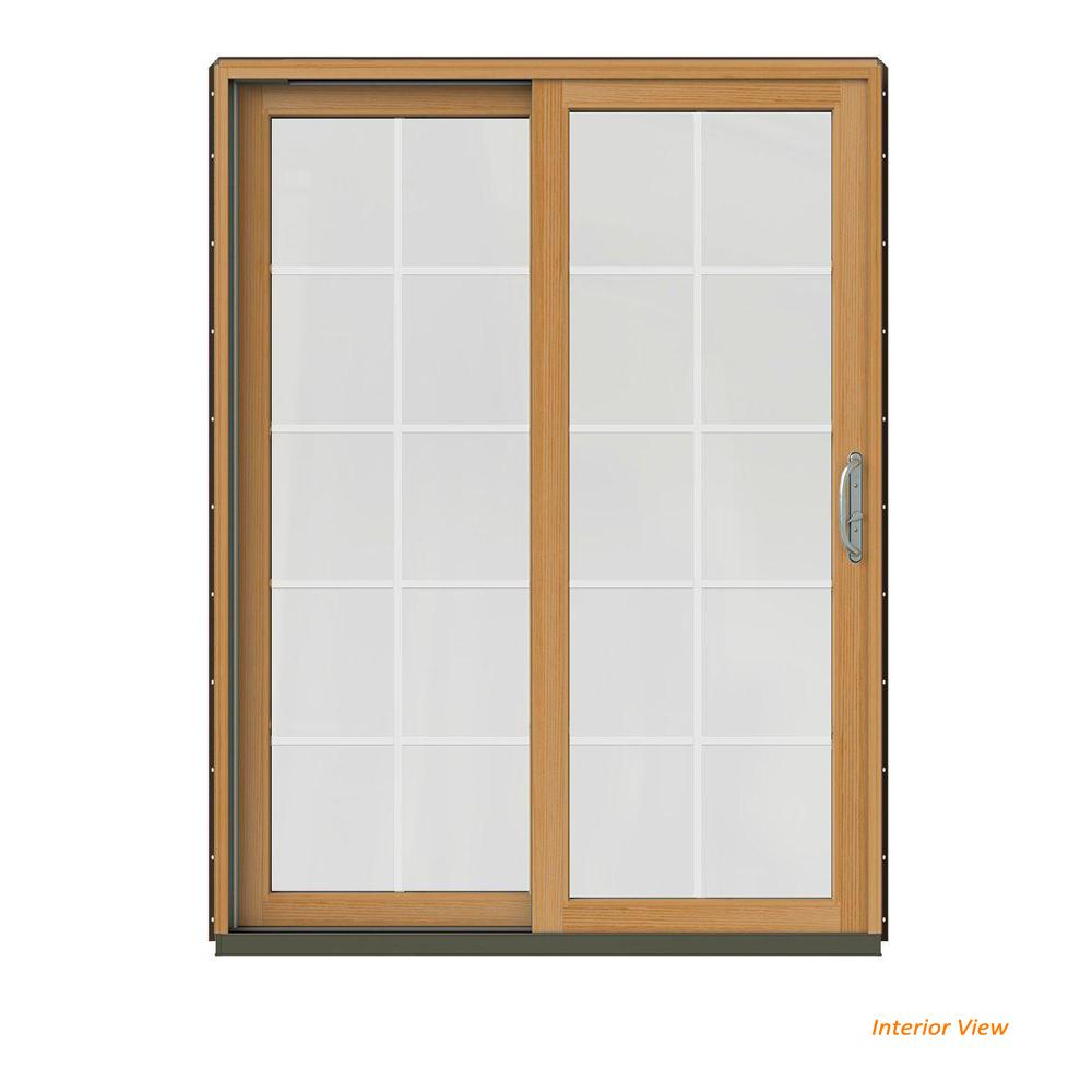 Jeld Wen 60 In X 80 In W 2500 Contemporary Brown Clad