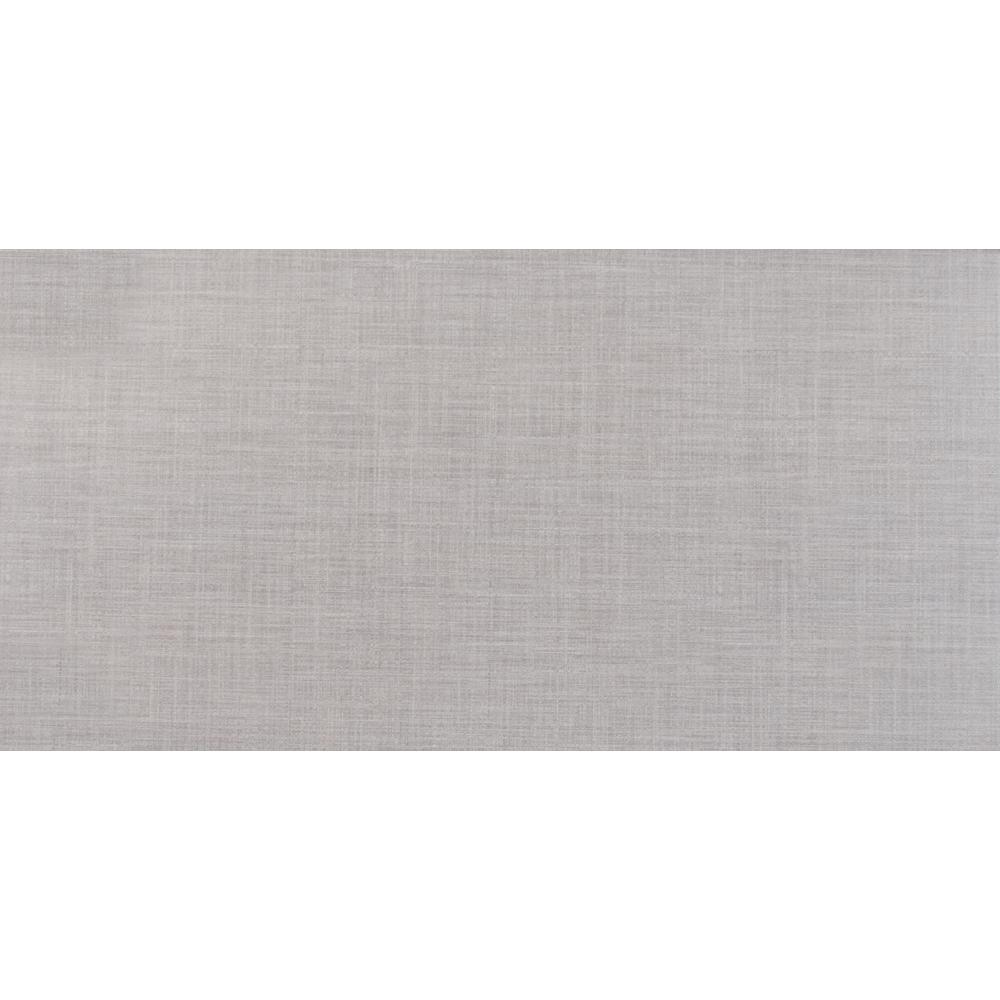 Msi Linho Gray 12 In X 24 In Glazed Ceramic Floor And Wall Tile