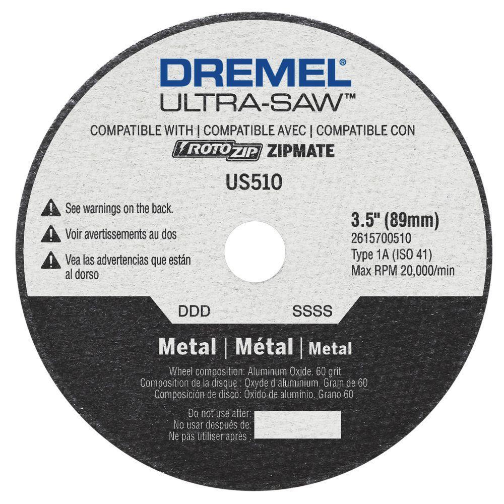 Ultra-Saw 3-1/2 in. Metal Cutting Wheel