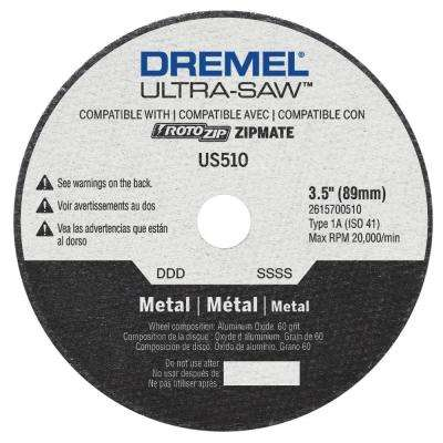 Ultra-Saw 3-1/2 in. Metal Cutting Wheel