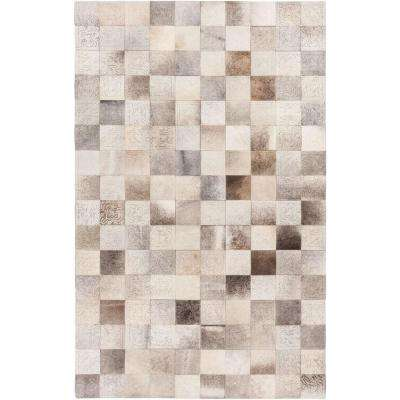 Sedna Taupe 4 ft. x 6 ft. Indoor Area Rug