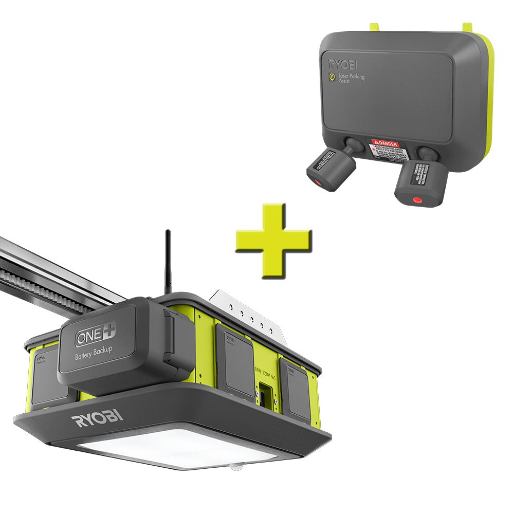 Ultra-Quiet 2 HP Belt Drive Garage Door Opener with Laser Park