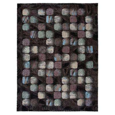 Modesto Cobblestone Charcoal 5 ft. x 7 ft. Area Rug