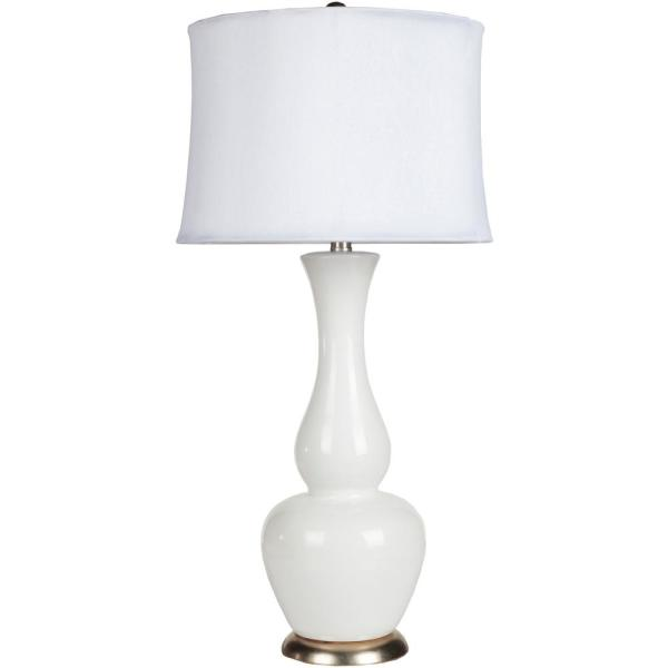 Cholet 30 in. White Indoor Table Lamp