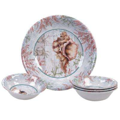 Sanibel Multicolor Salad/Serving Set (Set of 5)