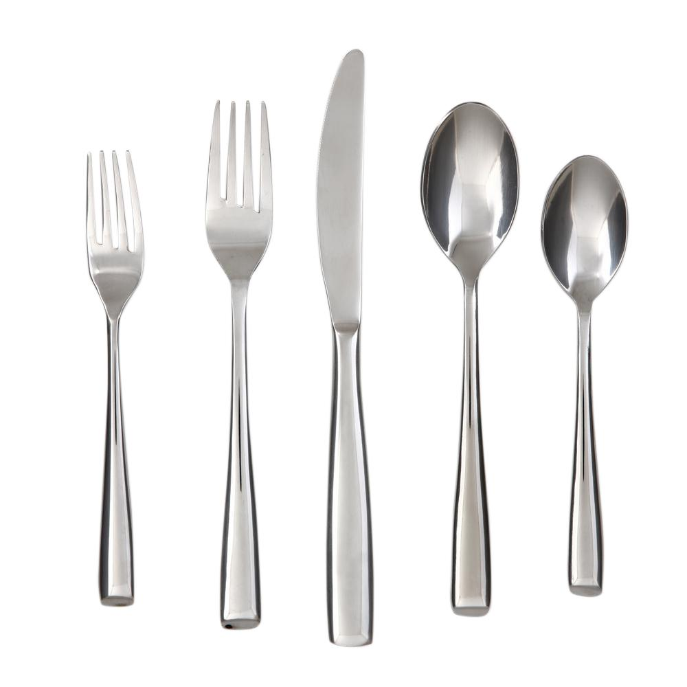 Rachel Mirror 20-Piece Flatware Set