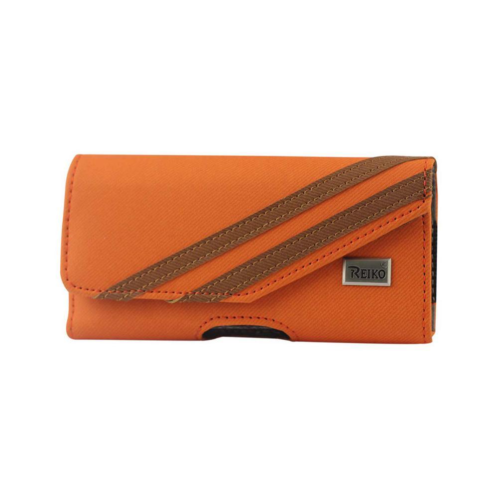 Medium Horizontal Rugged Holster in Orange